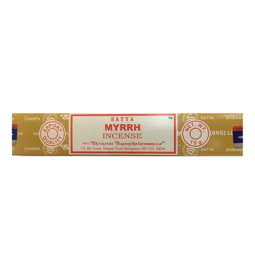 Incenso Satya  Myrrh