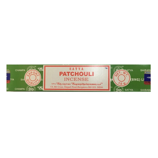 Incenso Satya Patchouli