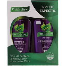 Kit Phytoervas De Shampoo + Condicionador Anti Queda 250 mL