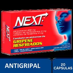 Antigripal Next, 20 cápsulas