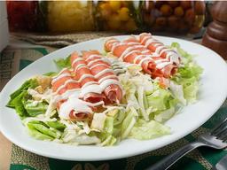 Caesar Salad de Salmão