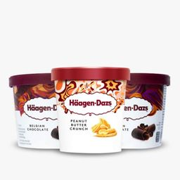 Combo 3 Por 2 Haagen Dazs Sabor Chocolate