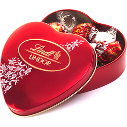 Leve 2 Pague 1 Chocolate Milk Lindor Heart Lindt 62 g