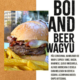 WAGYU BOI AND BEER