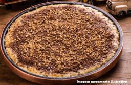 Pizza de Chocolate com Castanha
