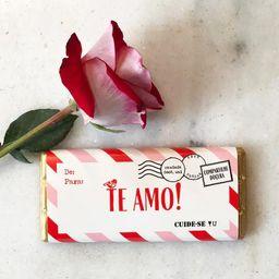 Barra de Chocolate Te Amo - 100g