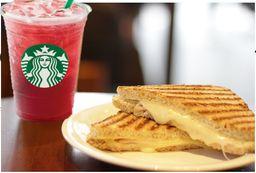 Refresher de morango com Toast