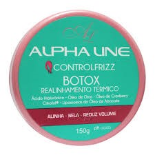Botox Capilar Alpha Line Control Frizz 150 g