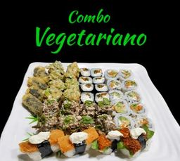 Combo vegetariano - 42. unidades