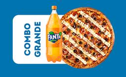 Combo Pizza Grande Tradicional + Refrigerante 2L.