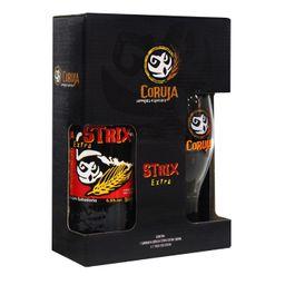 Kit Strux Coruja - Uma Garrata + Copo Exclusivo  - Cód 307574