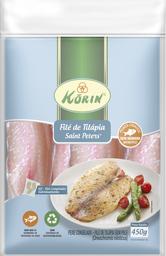 Filé Tilápia Orgânica Korin 450 g