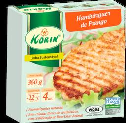 Hambúrguer Korin Frango Congelado 360 g