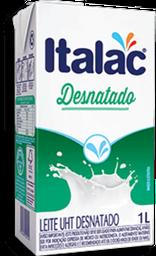 Leite Uht Desnatado Italac 1 L