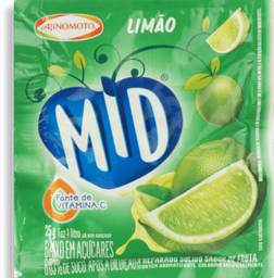 Mid Ajinomoto Kit Refresco Limão Tangerina e Maracujá