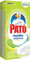 Pato Pastilha Adesiva Citrus Com 20% Desconto Com 3 Und