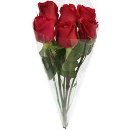 Buquê De Rosas Vermelhas Com 6 Und