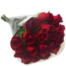 Buquê De Rosas Vermelhas Com 20 Und