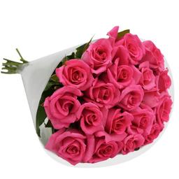 Buquê De Rosas Pink Com 20 Und