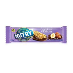 Barra De Cereal Nutry Avela Com Chocolate 22 g