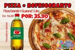 Combo Pizza + Guaraná