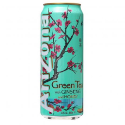 Chá Arizona Verde Ginseng Mel 340 mL