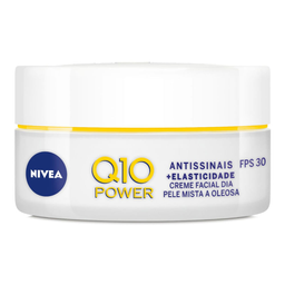 Nivea Creme Facal Q10 Antissinais Mista/oleosa
