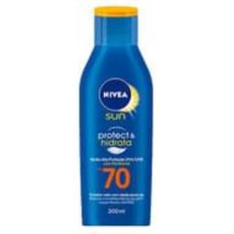 Protetor Solar Nivea Sun Proteção E Hidratação Fps 70 200 mL