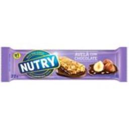 Barra Cereal Nutry Avelã Com Chocolate 3 Und