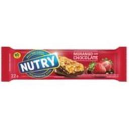 Barra De Cereal Nutry Lgh Morango/Chocolate