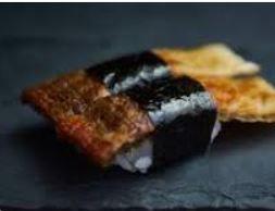 Sushi de Salmão Skin Tempura