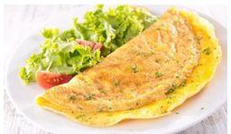 Omelete de Presunto e Mussarela