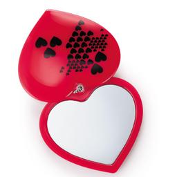 Espelho De Bolsa Coração