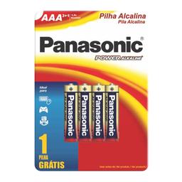 Pilha Panasonic Álcool Aaa Und