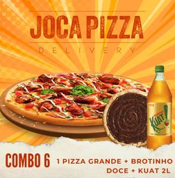 Combo 6 - Pizza Grande + Broto + Kuat
