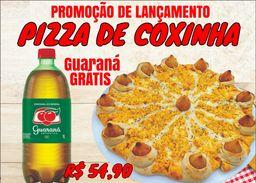 Combo Pizza de Coxinha + Refri Grátis
