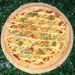 Pizza Grande Três Queijos