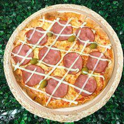 Pizza Grande de Lombo com Catupiry