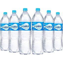 6 Und. Água Mineral Crystal Pet 1,5 L