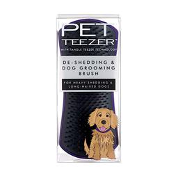 Rasqueadeira Pet Teezer De-shedding Roxa Para Cães e Gatos