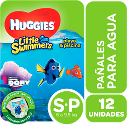 Huggies Little Swimmers Fralda P