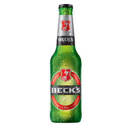 Cerveja Beck's Puro Malte 330ml Garrafa Long Neck