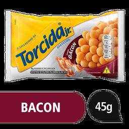 8% em 5 Unid Torcida Salgadinho Lucky Jr Bacon
