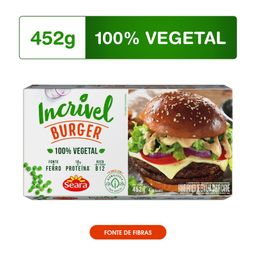 Seara Hamburguer Incrivel Carne