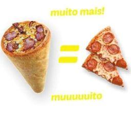 Pizza Cone de Frango