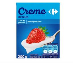 Creme De Leite Carrefour Tp 200 g