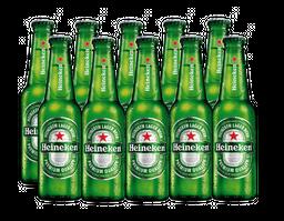 10 Und. Cerveja Heineken Long Neck 330 mL