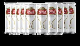 10 Und. Cerveja Stella Artois Lata 269 mL
