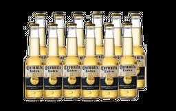 12 Und. Cerveja Coronita Extra 210 mL