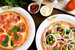 2x1 pizza média